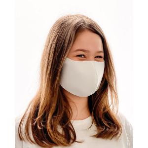 Behelfs-Mund-Nase-Maske weiß S