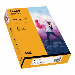 tecno colors 160g 210x297 R mittelorange
