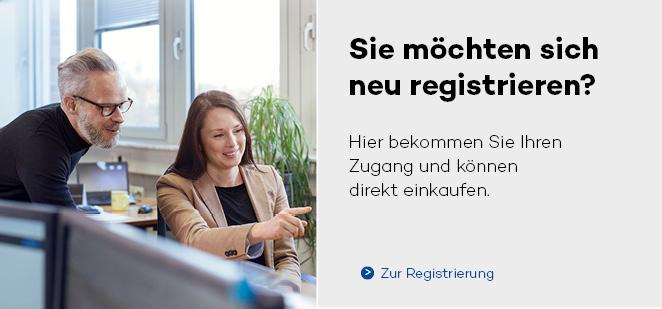Sie möchten sich neu registrieren?